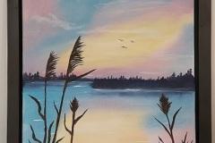 Gibbins 21-01-Lake-View-18x24