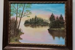 Gibbins 21-01-Lake-scene-18x24