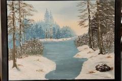 Gibbins 21-01-Snow-Day-18x24
