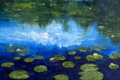 judson_lily-pads_oil_15x30