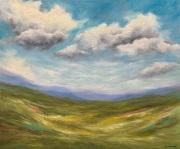 "Spring Clouds - Oil, 20"" x 24"""
