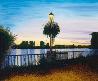 Evening Lamp Post