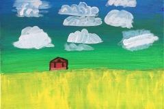 ChrisDrake02_Farm_Acrylic-on-Canvass._20x16x12