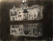 Townhall-at-night