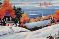 Caron - Douceur hivernale - acrylic, 20x20-site
