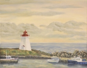 Lighthouse at Neil's Harbour