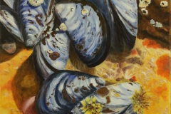 Gilly-Marston-02-Blue-Mussels-acrylic-18x24