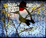 Hummingbird-window