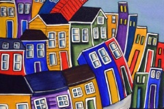 Lovat-Fraser02_Jelly-Bean-Village_acrylic_24x24
