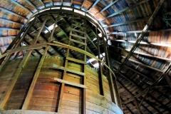 Silo in Round Barn