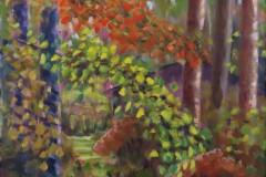 Moran - Tucked Away - Acrylic, 14X18