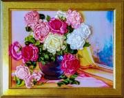 Flowers - Ribbons, 50cm x 45cm