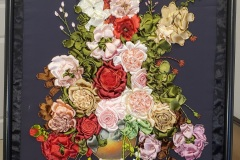 Nadia-Morcos_04_Vase-of-flowers_Embroidery-3D-Ribbons_75cmx55cm