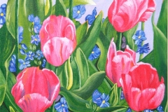 Armst04_Tulips_acrylic_12x24