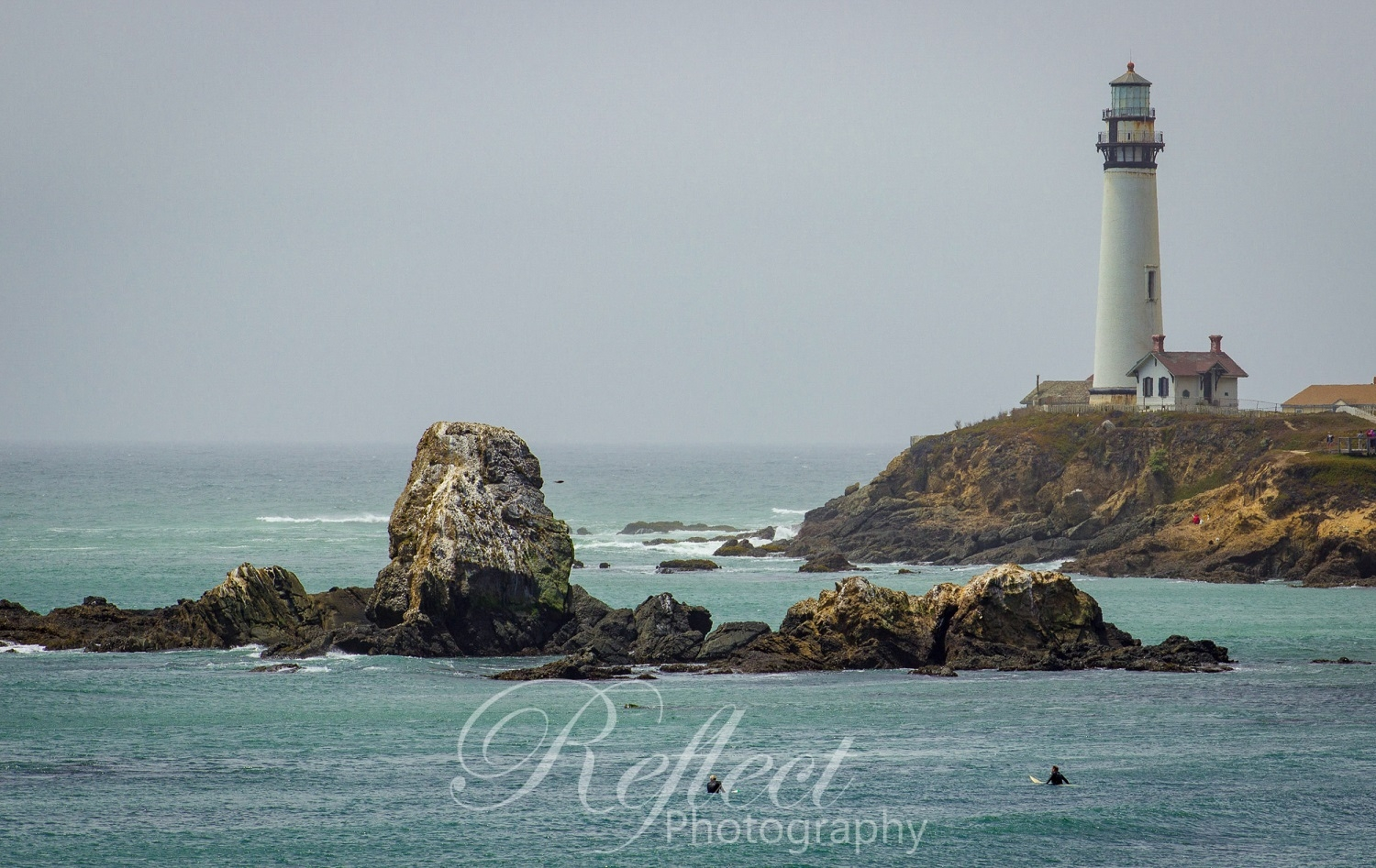 Surfs up at Pigeon Point