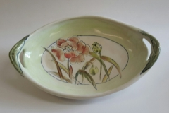 Green Tray 15 x 9 inches