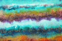 Southin - Depths - Mixed Media, 24x30